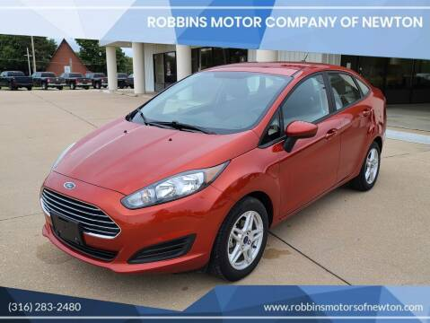 2018 Ford Fiesta for sale at Robbins Motor Company of Newton in Newton KS