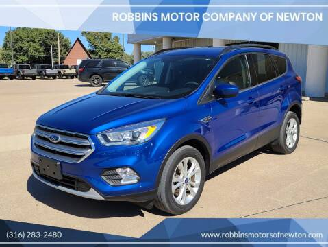 2017 Ford Escape for sale at Robbins Motor Company of Newton in Newton KS