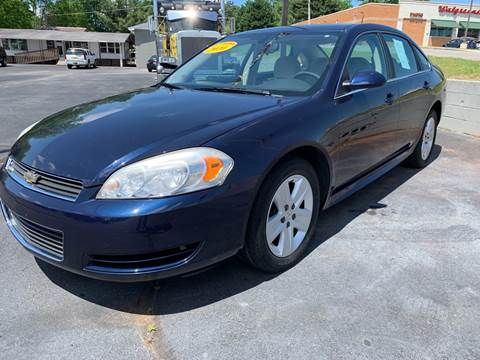 2010 Chevrolet Impala for sale in Decherd, TN