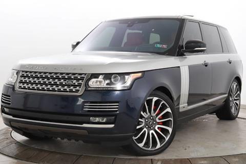 2017 Land Rover Range Rover for sale in Somerville, NJ