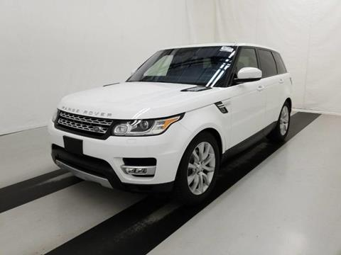 2016 Land Rover Range Rover Sport for sale in Somerville, NJ
