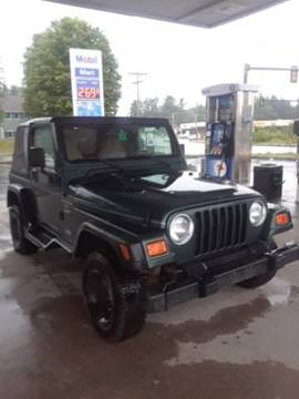 2001 Jeep Wrangler for sale in Manchester, NH