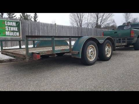 2001 Homemade Trailer for sale in Manchester, NH