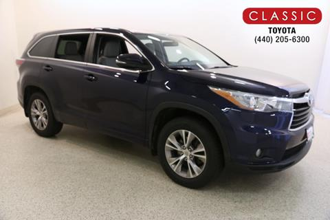 2015 Toyota Highlander For Sale >> Used 2015 Toyota Highlander For Sale Carsforsale Com