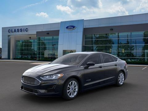2019 Ford Fusion Hybrid for sale in Mentor, OH
