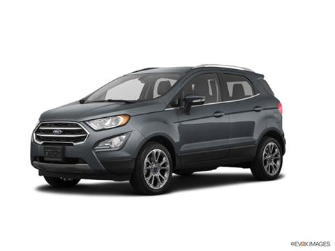 2019 Ford EcoSport Titanium for sale at Classic Ford Lincoln in Mentor OH