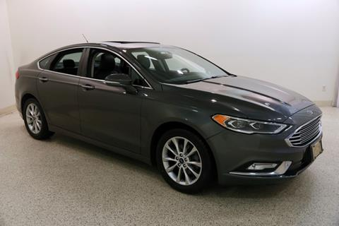 2017 Ford Fusion SE for sale at Classic Ford Lincoln in Mentor OH
