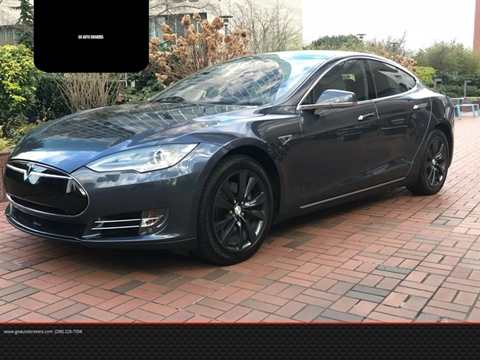 2014 Tesla Model S for sale at GO AUTO BROKERS in Bellevue WA