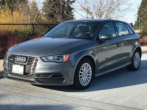 2016 Audi A3 Sportback e-tron for sale at GO AUTO BROKERS in Bellevue WA