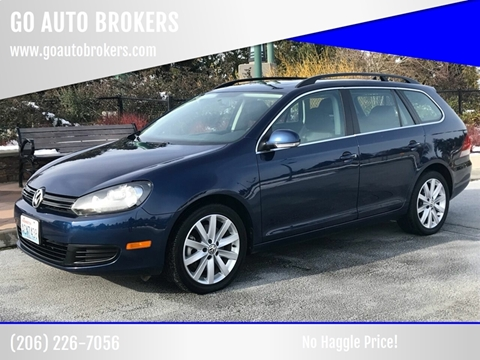 2011 Volkswagen Jetta for sale at GO AUTO BROKERS in Bellevue WA