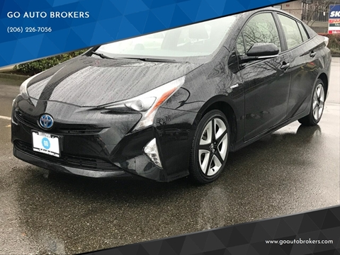 2016 Toyota Prius for sale at GO AUTO BROKERS in Bellevue WA