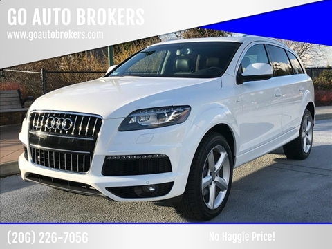 2010 Audi Q7 for sale at GO AUTO BROKERS in Bellevue WA