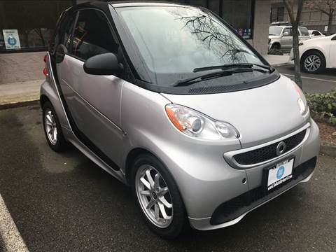 2015 Smart fortwo electric drive for sale at GO AUTO BROKERS in Bellevue WA