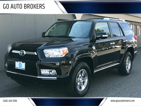 2010 Toyota 4Runner for sale at GO AUTO BROKERS in Bellevue WA