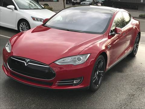 2013 Tesla Model S for sale at GO AUTO BROKERS in Bellevue WA