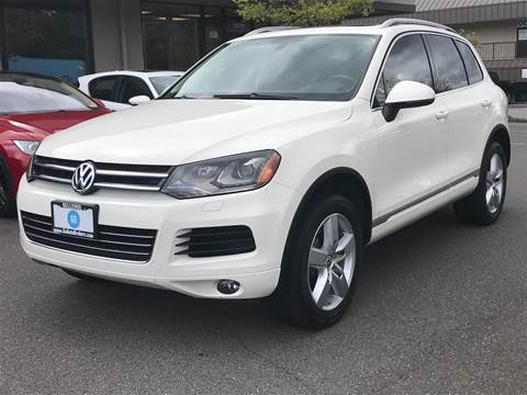 2011 Volkswagen Touareg for sale at GO AUTO BROKERS in Bellevue WA