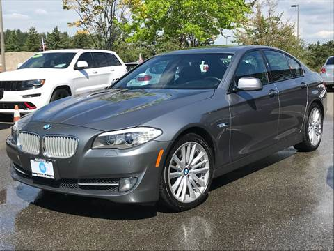 2012 BMW 5 Series for sale at GO AUTO BROKERS in Bellevue WA
