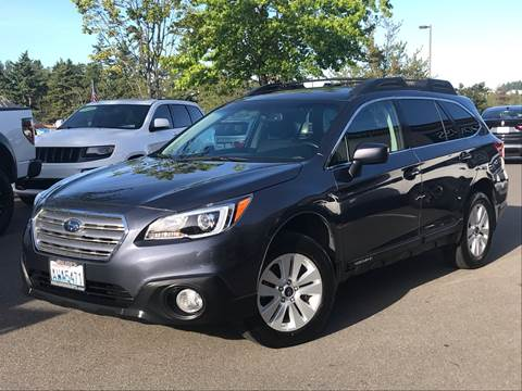 2015 Subaru Outback for sale at GO AUTO BROKERS in Bellevue WA