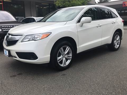 2015 Acura RDX for sale at GO AUTO BROKERS in Bellevue WA