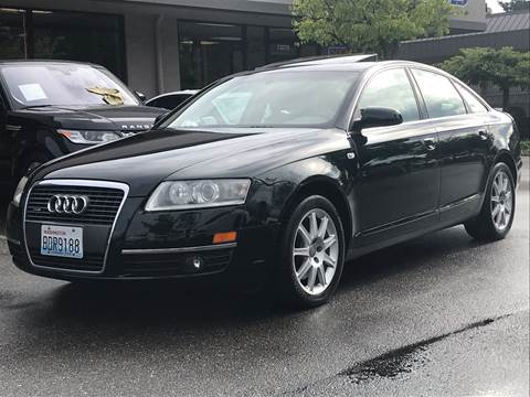 2005 Audi A6 for sale at GO AUTO BROKERS in Bellevue WA