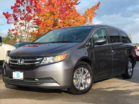 2016 Honda Odyssey for sale at GO AUTO BROKERS in Bellevue WA