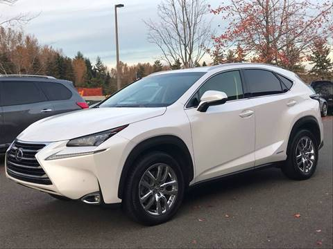 2015 Lexus NX 300h for sale at GO AUTO BROKERS in Bellevue WA