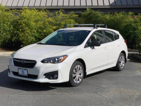 2018 Subaru Impreza for sale at GO AUTO BROKERS in Bellevue WA