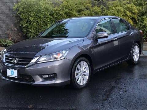 2014 Honda Accord for sale at GO AUTO BROKERS in Bellevue WA