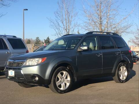 2009 Subaru Forester for sale at GO AUTO BROKERS in Bellevue WA