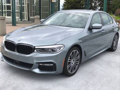 2018 BMW 5 Series for sale at GO AUTO BROKERS in Bellevue WA