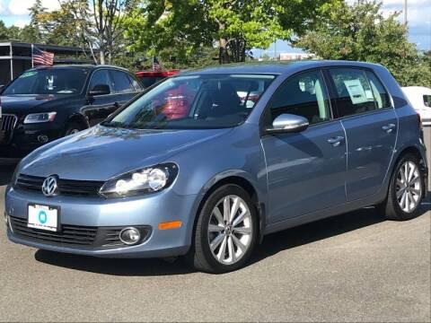 2012 Volkswagen Golf for sale at GO AUTO BROKERS in Bellevue WA