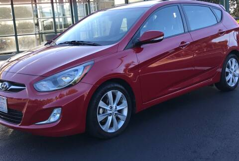 2013 Hyundai Accent for sale at GO AUTO BROKERS in Bellevue WA
