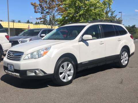 2011 Subaru Outback for sale at GO AUTO BROKERS in Bellevue WA