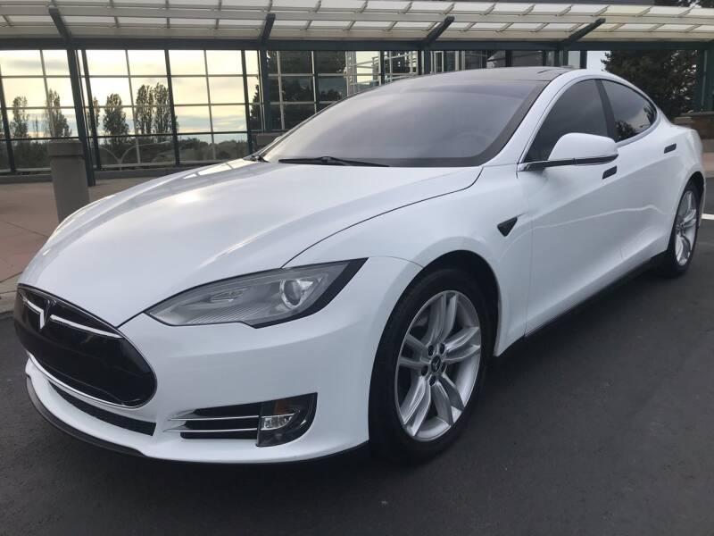 2013 Tesla Model S for sale at GO AUTO BROKERS in Bellevue WA