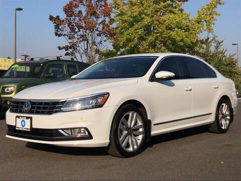 2017 Volkswagen Passat for sale at GO AUTO BROKERS in Bellevue WA