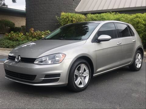 2017 Volkswagen Golf for sale at GO AUTO BROKERS in Bellevue WA
