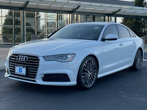 2017 Audi A6 for sale at GO AUTO BROKERS in Bellevue WA