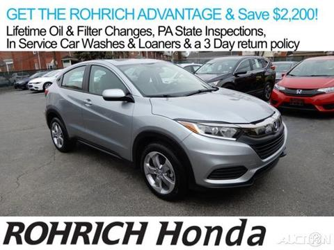 2019 Honda HR-V for sale in Pittsburgh, PA