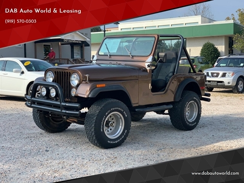 1979 Jeep CJ-5 for sale in Wake Forest, NC