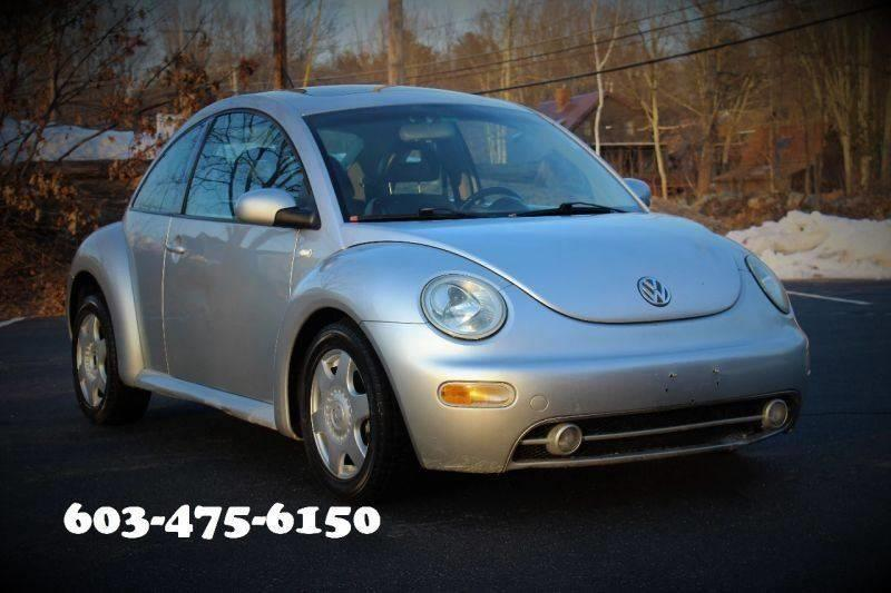 2001 Volkswagen New Beetle for sale at AS IS DISCOUNT CARS in Hampstead NH