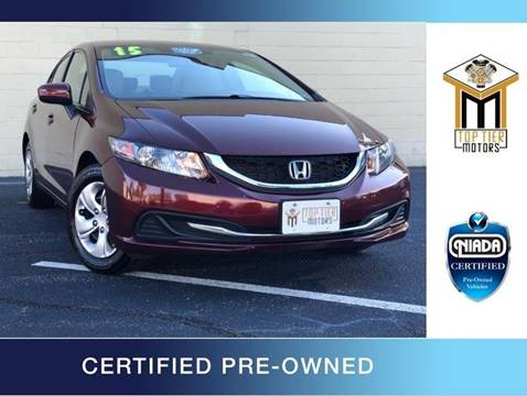 2015 Honda Civic for sale in Colonial Heights, VA