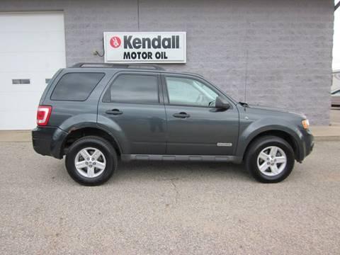 Ford Escape Hybrid For Sale >> Ford Escape Hybrid For Sale In Howard City Mi Keller North