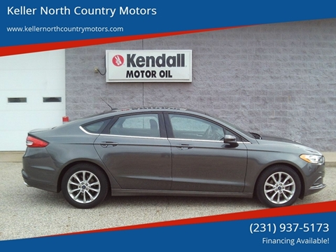 2017 Ford Fusion for sale in Howard City, MI