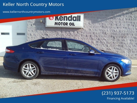 2013 Ford Fusion for sale in Howard City, MI
