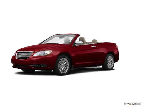 2014 Chrysler 200 Convertible for sale in Lewisburg, PA
