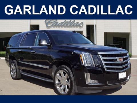 2019 Cadillac Escalade ESV for sale in Garland, TX