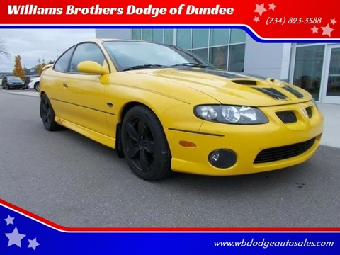 2005 Pontiac GTO for sale in Dundee, MI