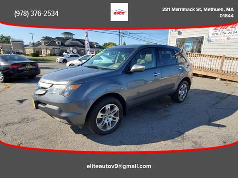 2008 Acura MDX for sale in Methuen, MA