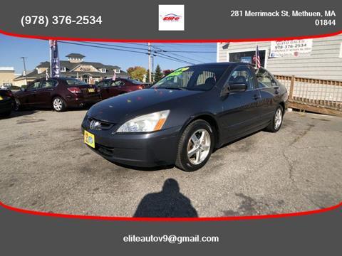 2003 Honda Accord for sale in Methuen, MA