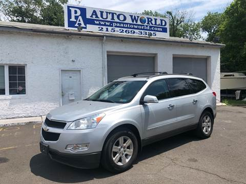 2010 Chevrolet Traverse for sale at PA Auto World in Levittown PA